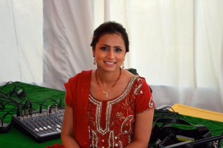 Tina Kundalia at Sangeet Event in 2014, NY